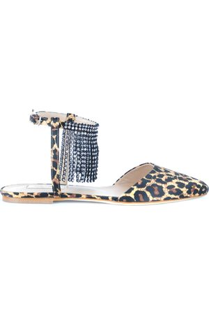 Polly Plume Women Flat Shoes - Flats in Leopard Print