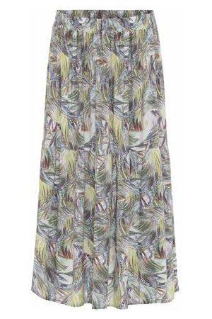 AJ117 Pam Skirt - Feather Multi