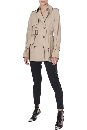 McQ Women Trench Coats - FLARED TRENCH