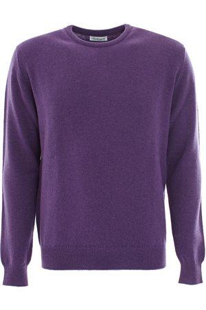 LEATHERSMITH OF LONDON Regalia wool round neck sweater
