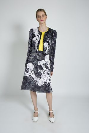 Alice Archer Estella Devore Velvet Jacket