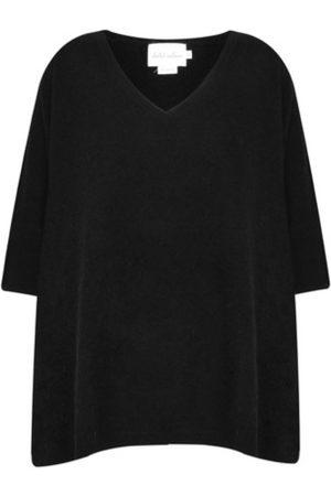 ABSOLUT CASHMERE Poncho cashmere noir