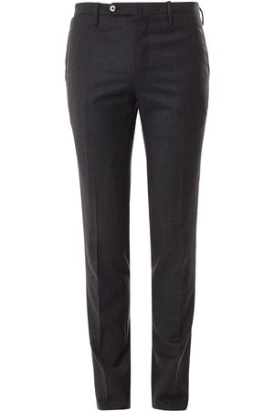 LEATHERSMITH OF LONDON Flannel Trousers Regular Fit
