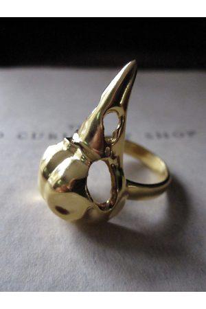 WINDOW DRESSING THE SOUL WDTS 925 Silver Bird Skull Ring