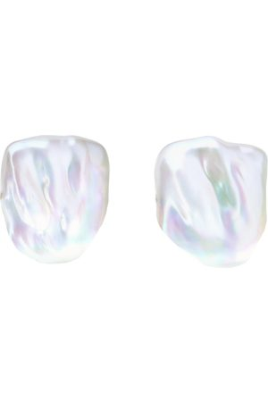 ORA Pearls XXL SABRE PEARL STUD EARRINGS