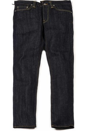 Edwin Jeans ED-39 Regular Loose Red Selvedge Denim - Unwashed Colour:
