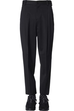 VERSACE HIGH-WAIST TROUSERS