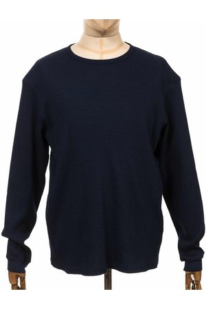 Edwin Jeans Meridian Knit Jumper - Indigo Size: Medium, Colour: Indigo