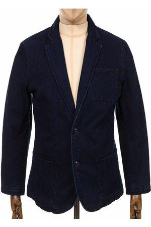 Edwin Jeans Don Blazer - Indigo Size: Medium, Colour: Indigo