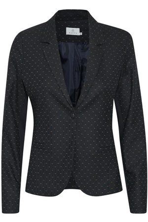 Kaffe KAmaje Jillian Blazer - Midnight Marine / Gingerbread