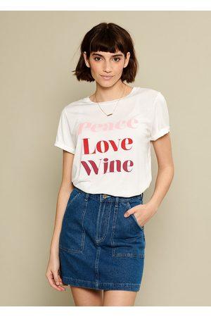 South Parade Lola Peace Love Wine T Shirt