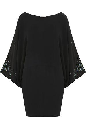 Uzma Bozai Pana Sequined Dress
