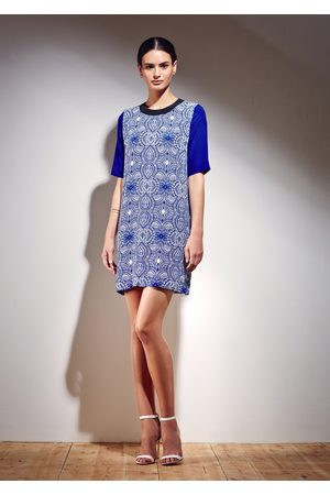 Uzma Bozai Mehindi Shift Dress