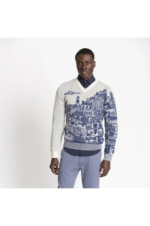 FIELDS Wool & Mohair Sweater Collaboration with Michael Chandler