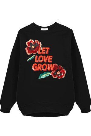Uzma Bozai LET LOVE GROW OVERSIZED SWEATSHIRT