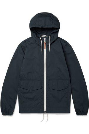 Albam Cotton Ripstop Modern Cagoule Jacket Navy
