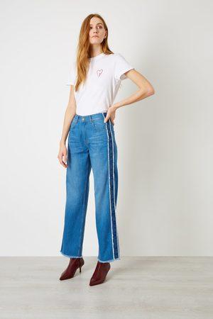 Iden Virginia Boyfriend Side Stripe Jean
