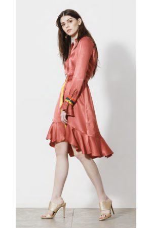Emily Lovelock Meghan Dress in Copper
