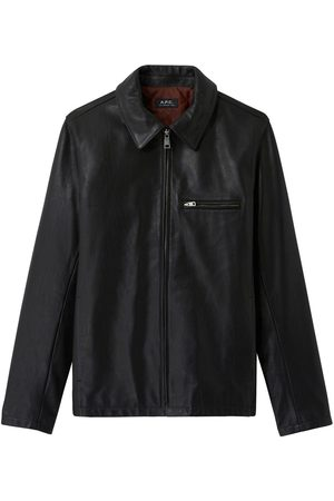 A.P.C. . No Fun Jacket - Leather