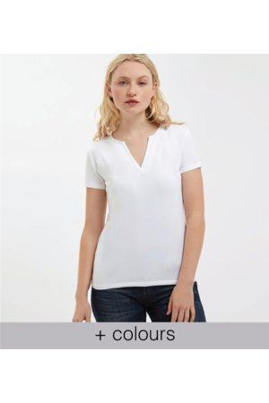 Yunion T Modern Kaftan Neck T-Shirt