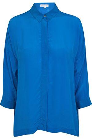 Uzma Bozai Malih Shirt - Turquoise Viscose