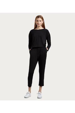 MICHAEL STARS Portia Cambria Crepe Knit Jumpsuit