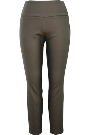 Up Pants 66587 Leather Look Trouser