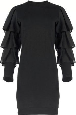 Azulu Myna Tiered Sleeve Jersey Dress