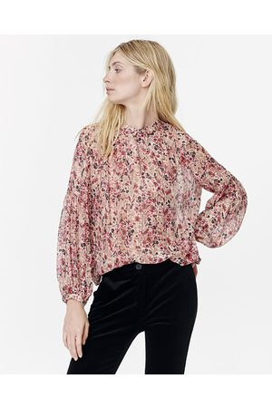 Munthe Floral Sheer Blouse