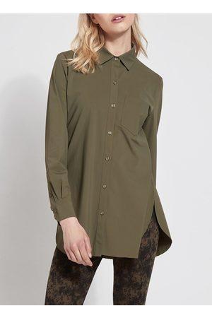 Lysse Lyss Schiffer Button Down Shirt - Olive