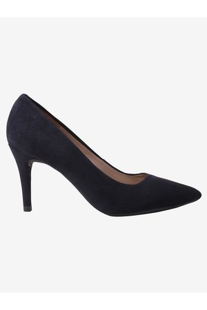 unisa Women Sports Shoes - Navy Court Shoe Pointed Suede