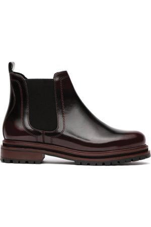 Hudson Hudson Wisty Patent Boot in Oxblood
