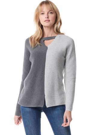 Lisa Todd Shaker Sweater - Charcoal / Silver