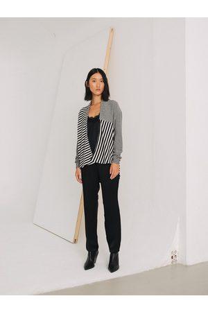Sita Murt Stripe Cardigan 595504 - / Off White Stripe