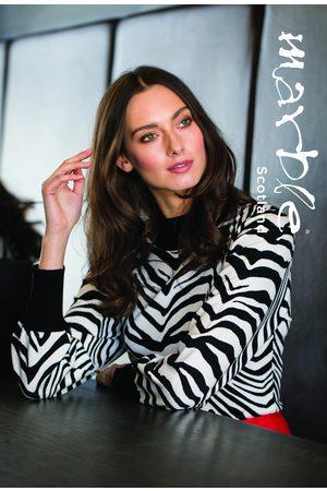Marble 5479 Zebra print jumper.