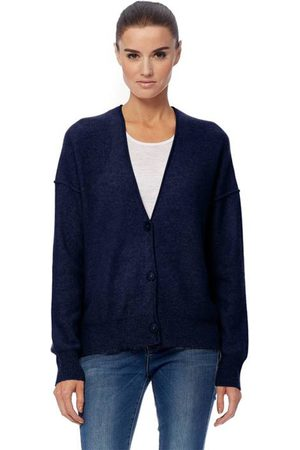 360CASHMERE Itzie Navy Cardigan