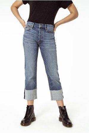 Denham Kelly Ginger Wide Leg Jeans