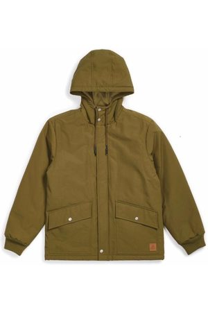 Brixton Spokane Military Jacket - Olive