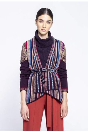 Ivko Jacket with Geometric Pattern in