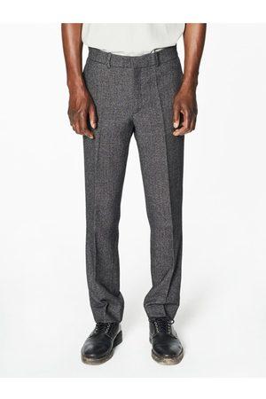 Capsul Pierre Flecked Grey Wool