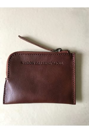 Collard Manson WDTS Tan Leather Wallet