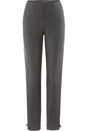 STEHMANN Loli 742 trousers in graphite.
