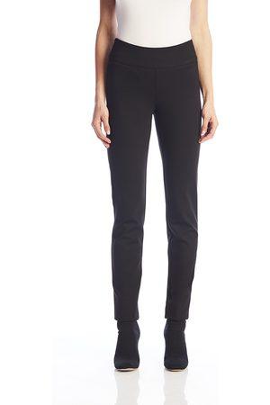 Up Pants 64746 Ponte Pull On Trouser - Black