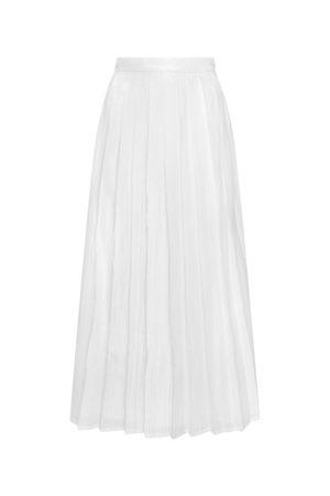 OLIVIA RUBIN Women's Esme Pleated Sequin Skirt in
