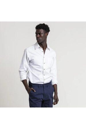 FIELDS Men Shirts - 1 Pocket Cotton Shirt