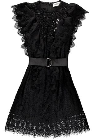 Essentiel Vamos Lace Patchwork Dress