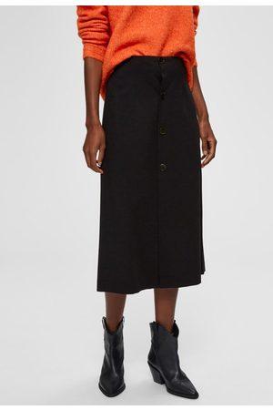Selected Amanda midi skirt