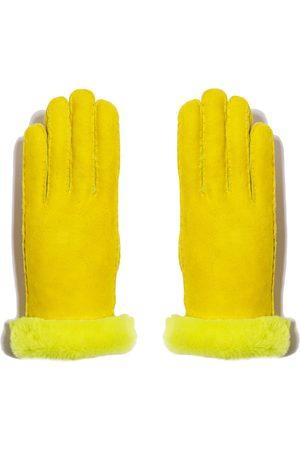 Maison Fabre Shearling Neon Glove