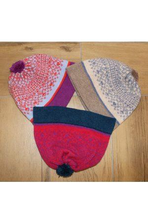 Suzie Lee Knitwear Fair Isle Bobble Hat