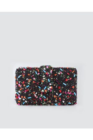 Simitri Designs Black Donut Clutch
